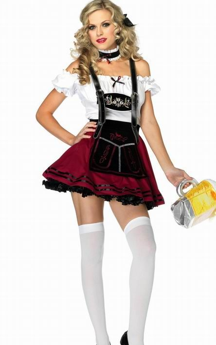 F1062 Beauty sexy Beer wench costume